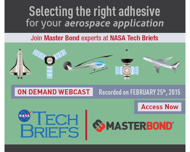 On Demand Webcast with Master Bond Experts