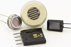 Epoxy compounds for sensor applications