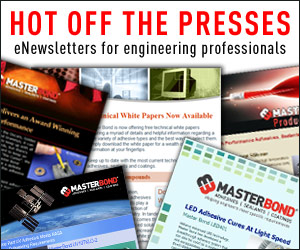 Master Bond eNewsletters for Engineers