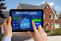 Adhesives systems for home automation devices