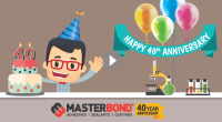 Master Bond Celebrates 40 Years of Adhesives