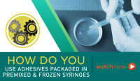 Using Master Bond Premixed and Frozen Syringes
