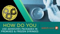 Using Master Bond Premixed and Frozen Syringes