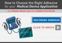 Master Bond Webinar on Adhesives for Medical Applications