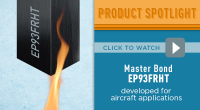 Master Bond Epoxy EP93FRHT for Aircraft Applications